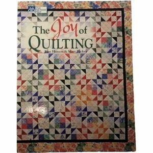 The Joy of Quilting Instruction & Patterns Book